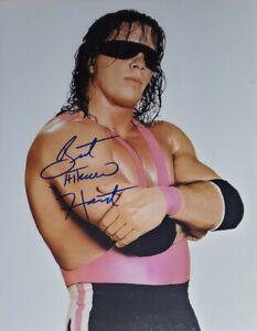 Bret Hart Authentic Autographed 8x10 Photo w/ COA