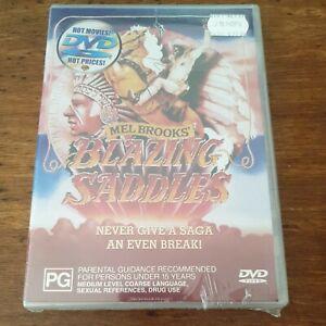 Blazing Saddles DVD R4 BRAND NEW SEALED! FREE POST