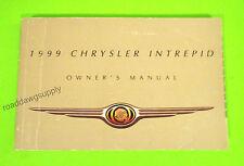 1999 Chrysler Intrepid Sedan Owners Manual Owner's Guide Book