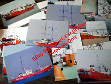 More details for pirate radio set of 15 color photos of the timo challenger ship boat that rocked