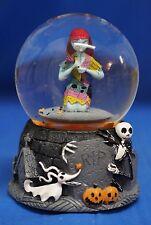 Nightmare Before Christmas Sally Jack Skellington Zero Musical Blower Snowglobe