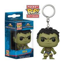 Thor Ragnarok Casual Hulk Marvel Funko Pocket Pop! Bobble-Head Vinyl Keychain