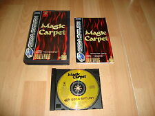 MAGIC CARPET DE BULLFROG PARA LA SEGA SATURN USADO COMPLETO
