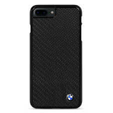 BMW Black Carbon Fiber Hard Case for iPhone 7 Plus - Black