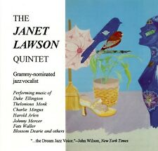 The Janet Lawson Quintet – Cambria Records – Great Vocal Jazz - VG CD
