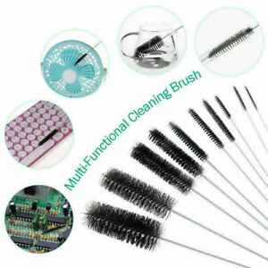 10Pcs Strip Cleaner Brushes Bottles Tube Pipe Small Long Handle Cleaning Brush
