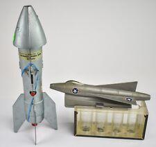 Vintage 1957 Rocket Ship & Jet Fighter Sorter Banks  - NO RESERVE PB205