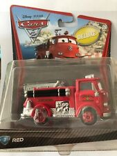 DISNEY Pixar Cars 2 - RED #3 New in package - RARE - DELUXE