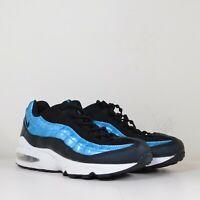 Nike Air Max 95 EP GS Running Youth 6.5 / Womens 8 Shoes Black Blue BV0044-001