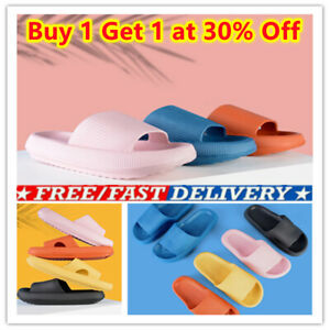 Women Men Sandals Ultra-Soft Slippers Extra Soft Cloud Shoes Anti-Slip UK