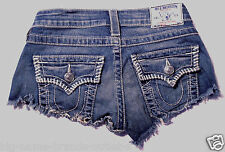 EUC - RRP $229 - Womens Stunning True Religion Brand  'CUT OFF'  Shorts