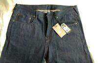 G- Star Raw Red Cast RL Selvage Denim Jeans US First Straight size W 36/L 32 NWT