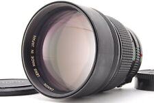 【NEAR MINT】 Canon New FD 135mm f/2 NFD Telephoto Portrait MF Lens From JAPAN 954