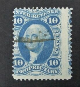 nystamps US Revenue Stamp # R38c Used         O8y1490