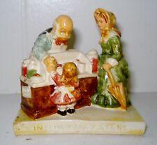Vintage Sebastian Miniatures Pw Baston Figurine In The Candy Store Nr