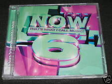 NOW 6 THAT'S WHAT I CALL MUSIC ISRAEL VERSION PROMO NEW Britney Spears,Anastacia