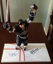 "WAYNE GRETZKY Autographed 12"" McFarlane Figurine Signed COA LA KINGS 1851 Points"