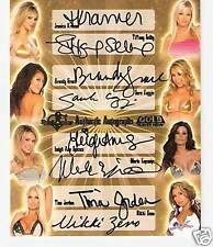 07 BENCHWARMER - GOLD EDITION - 8 AUTOGRAPH CARD