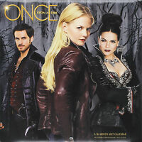 Once Upon a Time 2017 Wall Calendar 9781629059211 New & Sealed