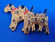Fox Terrier Pin--VINTAGE