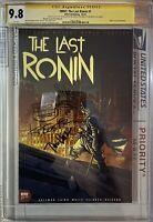 TMNT: The Last Ronin #1  Santolouco 1:25 CGC SS 9.8 Triple Signed Eastman