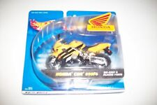 hotwheels honda cbr 600 f4 yellow black  2000 Matel 1:18 scale diecast new