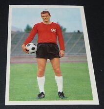 POULSEN DANMARK HANNOVER 96 FUSSBALL 1966 1967 FOOTBALL CARD BUNDESLIGA PANINI