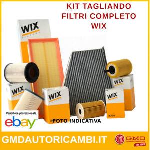 KIT TAGLIANDO FILTRI WIX FILTERS CHRYSLER VOYAGER III 2.4 i KW:111 dal 95>01