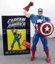 Horizon 1/6 Scale Captain America Vinyl Model Kit Assembled w/ Original Box '90