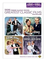 FRED ASTAIRE & GINGER ROGERS 4 FILM FLYING DOWN TO RIO ROBERTA FOLLOW THE FLEET+