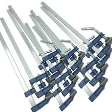 """F Clamps Bar Clamp 12pc Set Brick Profile Clamp 300 x 50mm 12"""" Long"""