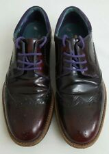 TED BAKER LONDON RTIVO 12892 Extralight Mens Wingtip Brogue lace Up Shoes Size 9