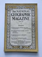 National Geographic Magazine - June 1925 - To Seek The Unknown In The Arctic
