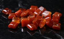 10X10mm Coral Gemstone Spacers GRS15