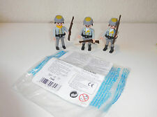 Playmobil Western Set 7046 3 x Southern Confederate Soldiers