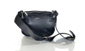 New Nixon Women's NADIA Leather Hip Pack Clutch Hand Bag, One Size, Black