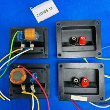 More details for speaker crossovers high-pass low-pass bi-wire pairs from jpw (sonata? monitor?)