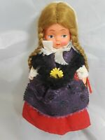 """Celluloid Ethnic Doll Germany ? 6"""" Tall"""