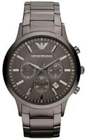 Emporio Armani Classic AR2454 Armbanduhr für Herren - Schwarz