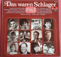 Das waren Schlager 1963 LP Vinyl Freddy / Margot Eskens / Connie Francis uvm