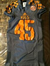 University of Tennessee Volunteers Adidas TechFit Football Game Authentic Jersey