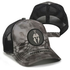 Kryptek Spartan Round Patch Mesh Back Cap- Raid/Black