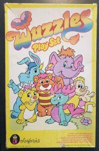 Vintage Wuzzles Colorforms Play Set Hasbro 1985