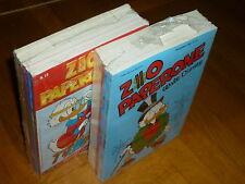 ZIO PAPERONE LOTTO DI 12 NUMERI SEQUENZA 13/24 RISTAMPA DISNEY 2001 - NUOVO !!