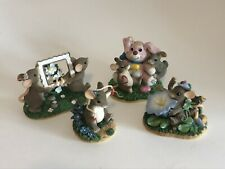 Charming Tails by Fitz and Floyd - Spring Easter Collection of 4 Items