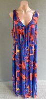 💜 CITY CHIC Sleeveless Maxi Dress Multicolor Size XL PLUS Buy7=FreePost L831