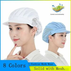 Work Wear Cook Hat Catering Restaurant Canteen Food Service Hair Nets Chef Cap