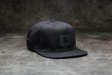 Carhartt Wip Logo Snapback Watch Hat Black Cap Streetwear Green Backley