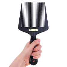 Clipper Comb Barber Styling Dyeing Comb Anti-slide Handle Plastic Flattop CoR_yk