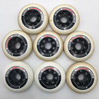 Rollerblade Hydrogen 90mm 85A Wheels | Spare Parts for Inline Skates 8 Pack | 06